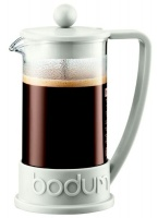 Bodum - Brazil Coffee Press 3-Cup Coffee Maker - White Photo