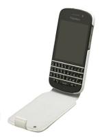 BlackBerry Q10 Flip Shell - White & White Photo