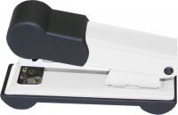 Bantex Metal Small Half Strip Home Stapler - White Photo