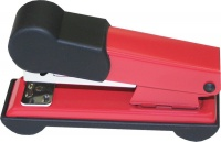 Bantex Metal Small Half Strip Home Stapler - Red Photo