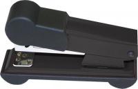 Bantex Metal Small Half Strip Home Stapler - Black Photo