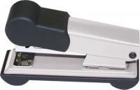 Bantex Metal Small Half Strip Home Stapler - Silver Photo