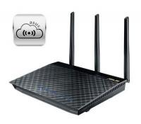 ASUS RT-AC66U AC1750 Dual-Band Wi-Fi Gigabit Fibre-Ready Router Photo