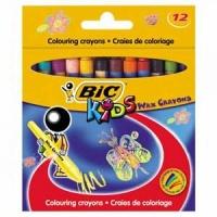 Bic - Wax Crayons - Wallet 12's Photo