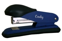 Croxley Half Strip Stapler Metal Body with Plastic Trim - Blue Photo