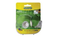 Sellotape Invisible Tape with Dispenser - 18mm x 15m Photo