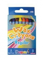 Penguin A8 Wax Crayons - Photo