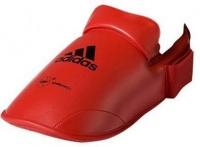 adidas WKF Karate Foot Protector - Red Photo