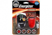 Energizer - LED Bike Light Kit - Black & Red Photo