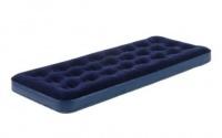 Bestway - Flocked Single Airbed - Blue Photo