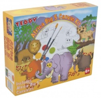 Teddy Africa Big 5 Canvas Kit Photo
