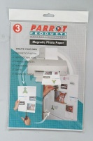 Parrot A4 Magnetic Photo Paper - Pack of 3 Photo