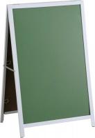 Parrot A-Frame Chalk Board with Steel Frame Sandwich Board - 900 x 600mm Photo