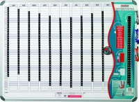 Parrot Perpetual Year Planner - 1200mm x 900mm Photo