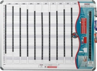 Parrot Perpetual Year Planner - 2400mm x 1200mm Photo