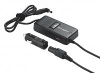 Kensington Auto & Air Laptop Power Adapter With USB Powered Port - Black Photo