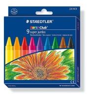 Staedtler Noris Club 9 Super Jumbo Wax Crayons Photo