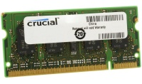 Crucial 2GB 1600MHz DDR3 SO-DIMM Laptop Memory Photo