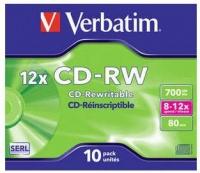 Verbatim CD-RW 12x Photo