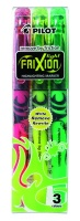 Pilot Frixion Light Erasable Highlighters - Wallet of 3 Colours Photo
