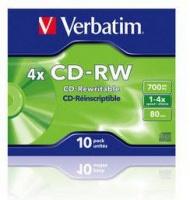 VERBATIM - 700MB - CD-RW - JEWEL CASE - Photo