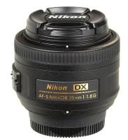 Nikon 35mm F1.8G AF-S DX Lens Photo