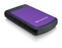 """Transcend 2TB Rugged USB3.0 Hard Drive 2.5"""" - Purple Photo"""