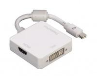 Hama 3in1 Mini Display Port Adapter for DVI DisplayPort Photo