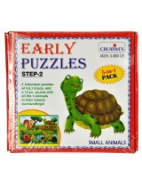 Creatives Toys Early Puzzle Step 2 - Small Animals Photo