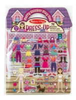 Melissa Doug Melissa & Doug Puffy Sticker Play Set - Dress-Up Photo