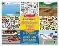 Melissa & Doug Vehicle Reusable Sticker Pad Photo
