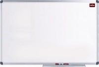 Nobo Elipse Melamine Non-Magnetic Whiteboard - 600mm x 900mm Photo