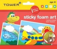 Tower Kids Sticky Foam Art - Aeroplane Photo