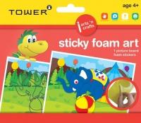 Tower Kids Sticky Foam Art - Elephant Photo