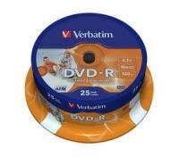 VERBATIM - 4.7GB DVD-R - PRINTABLE SPINDLE Photo