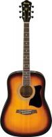 Ibanez V50NJP-VS Jampack Quick Start Acoustic Guitar Pack - Sunburst Photo