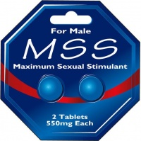 Maximum Sexual Stimulant For Male - 2 x 550mg Tablets Photo