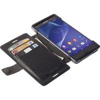 Sony Krusell Malmo FlipWallet for Xperia Aqua M4/Aqua M4 - Black Cellphone Cellphone Photo