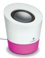 Logitech Z50 Speaker - White/Pink Photo