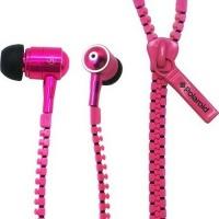 Polaroid SA Polaroid Zipper Earphones - Pink Photo