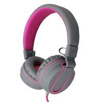 Polaroid SA Polaroid Foldable Stereo Headphone with Inline Mic - Pink Photo