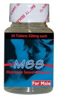 MSS Male Tablets - 30 x 550mg Photo