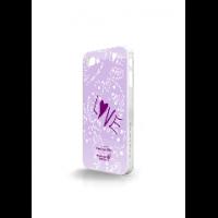 Whatever It Takes - Tough Shield for iPhone 4 & 4s - Penelope Cruz Purple Photo