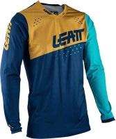 LEATT Moto 4.5 Lite Blue/Gold Jersey Photo