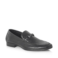 Green Cross GX & Co Men Formal Slip-on With Snaffle - Black 71931 Photo