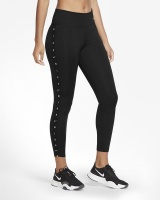 Nike Women's One Mid-Rise 7/8 Tights - Black Photo