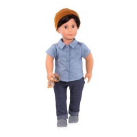 """Our Generation Classic Boy Doll Franco 18"""" Brown Hair Photo"""