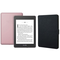Kindle Paperwhite Wi-Fi With S/O 8GB Plum With Black Cover Photo