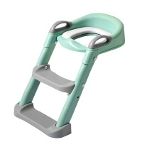 Mix Box Foldable Children Potty Training Toilet Seat Ladder Step Photo