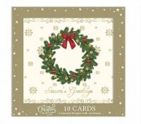 AK 10 Tree & Wreath Designed Christmas Cards Photo